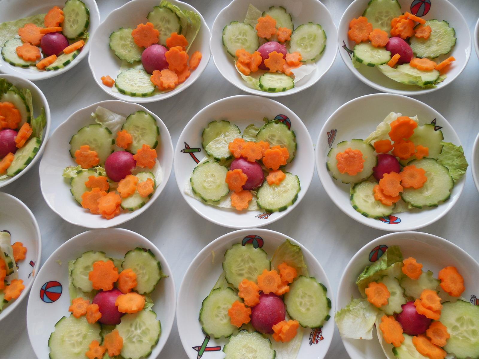 zeleninové chroupání